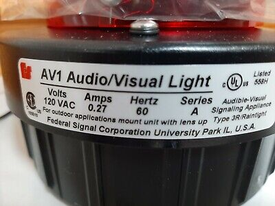 Federal Signal Corporation Av1 6 Available New In Box