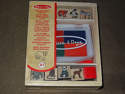 - Melissa & Doug Baby Zoo Animals Stamp Set-NIP