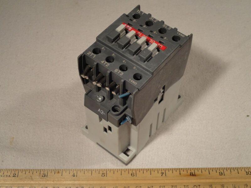 ABB AL26-30-10 Motor Starter Contactor AL26 24 VDC Coil IEC EN 60947-4-1
