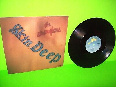 "The Stranglers ‎– Skin Deep 12"" Vinyl EP Record UK 1984 EMBOSSED SKIN COVER NM"