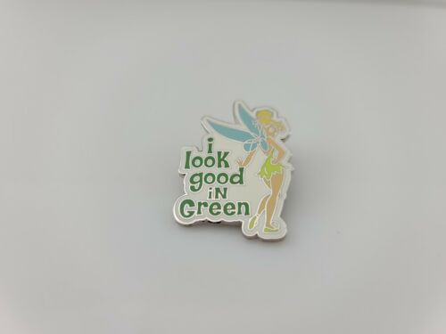 2009 Disney Tinker Bell I Look Good in Green Pin New No  Card