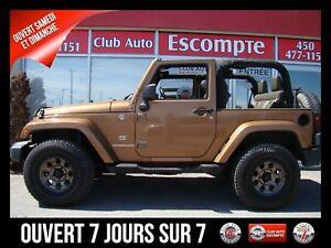 2011 Jeep Wrangler Sahara 4 RM 2 portes 70e anniversaire