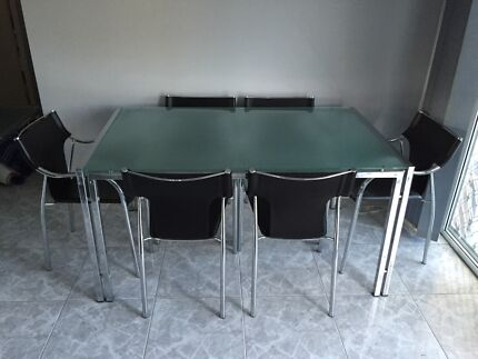 Dinning Table Set Milperra Bankstown Area Preview