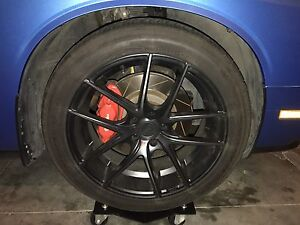 Niche Targa wheel/tire package For Dodge Challenger SRT8 or RT