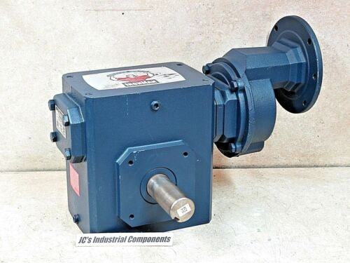 Grove Gear    75:1 ratio   speed reducer  4892 in lb  143 TC  double reduction
