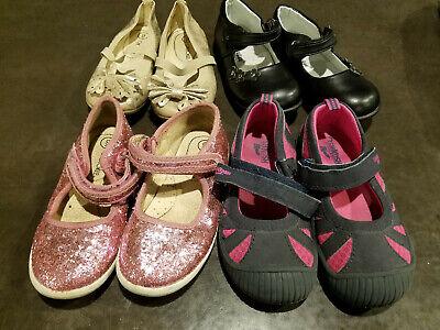 Lot 4 Pairs Girls kids Shoes Osh Kosh Cherokee Size 9 Dress Casual
