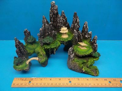 MOUNTAIN VIEW CAVE BRIDGE TREE SA014A AQUARIUM DECOR RESIN FISH TANK ORNAMENT