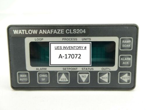 Watlow Anafaze 204-C10000AA 4-Channel Temperature Controller CLS204 Working