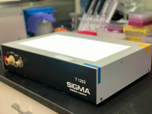 Sigma Chemical Company Sigma T 1203 Transilluminator