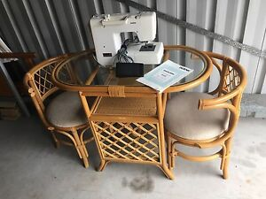Gorgeous Antique Table and chairs Tuncurry Great Lakes Area Preview
