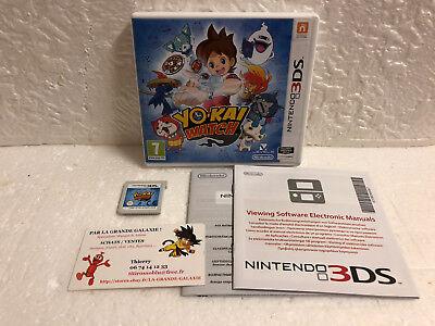 Jeu Vidéo Nintendo 3DS/2DS Yokai Watch VF Yo-Kai 1 RPG Mangas Montre et Monstres