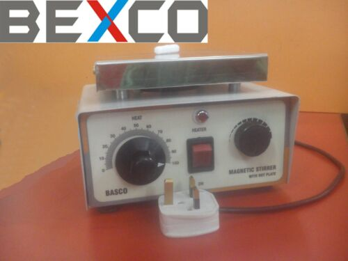 110V, 1000ML Magnetic Stirrer and Hot Plate by BRAND BEXCO DHL SHIP