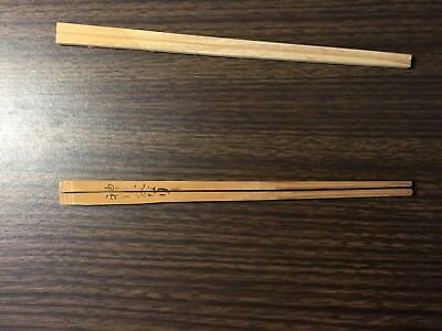 Vintage Chopsticks Set Collectible Japanese Chop Stick Packs Circa 1960's
