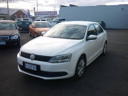 From only $77 p/week on finance* 2013 Volkswagen Jetta Auto Sedan Devonport Devonport Area Preview