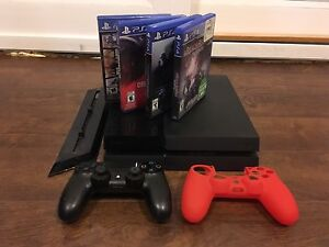 PS4 bundle, camera, controller and 5 games Edmonton Edmonton Area image 1