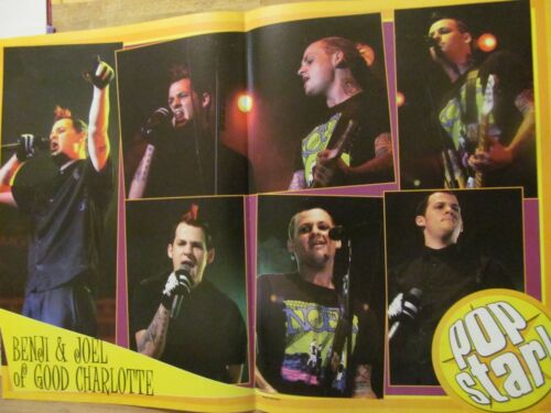Good Charlotte, Scott Terra, Double Two Page Centerfold Poster