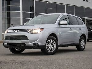 2014 Mitsubishi Outlander 4WD | Heated Seats | Bluetooth | A/...