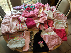 0-3 & 3-6  month baby girl clothing