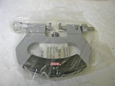 Spi Snap Gauge 0 To 1 Range 716 X 916 Flat Carbide Anvils 14-297-6