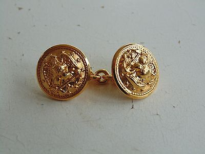 US NAVY ALL OFFICERS GOLD MESS & EVENING DRESS JACKET CHAINED BUTTON CLOSING (Us Navy Mess Dress)