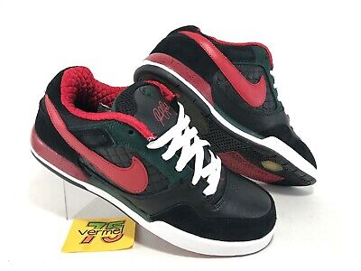 reputable site da9e2 ad3b6 RARE Nike Paul Rodriguez 2 II Zoom Air Sz 10.5 Black Red White 315459–063