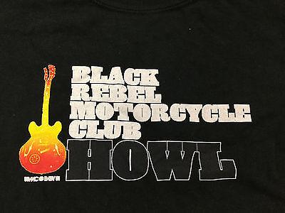 Black Rebel Motorcycle Club Howl Short Sleeve Black T-shirt Adult Size Medium