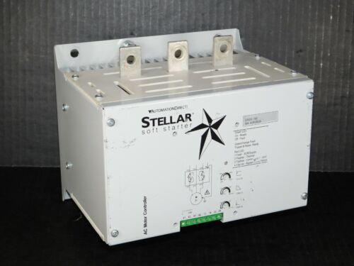 Stellar Soft Starter SR33-195 Automation Direct Industrial AC Motor Controller