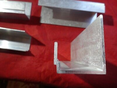 Aluminum Custom Channel 6 In Length 4 Pieces