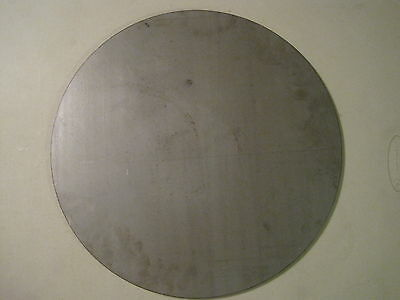 14 Steel Plate Disc Shaped 18 Diameter .250 A36 Steel Round Circle