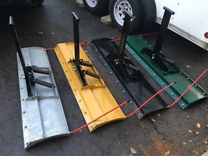 O7-09 yamaha grizzly 550 and 700 snow plow