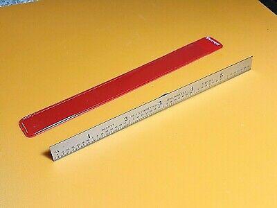 Starrett No. C309r-6 Full-flexible Steel Rule With Inch Graduations. Usa Made.