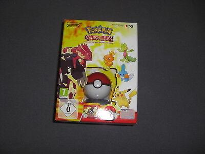 Pokemon Omega Rubin Ruby Spiel mit Pokewalker in Box 3DS