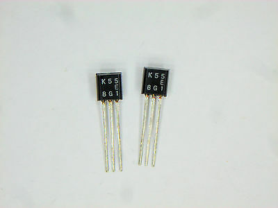 2sk55 Original Toshiba Fet Transistor 2 Pcs