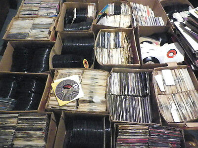 AWESOME LOT OF 1950'S 1990'S 45RPM- 50 RECORDS PER LOT-  VINYL JUKEBOX- (Music 45 Rpm Records)