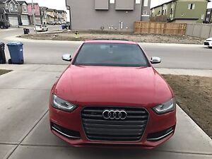 2013 Audi S4 Missano Red (Automatic)/ Factory extended warranty