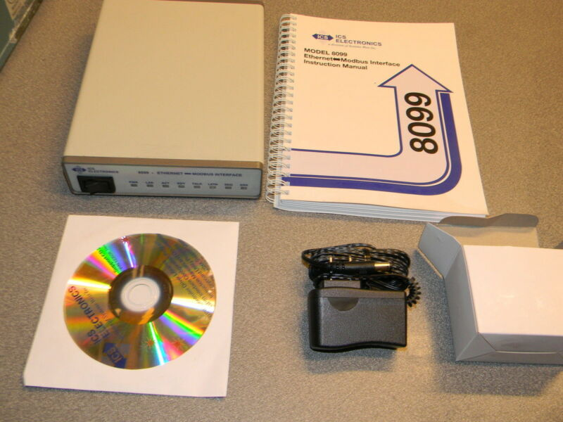 ICS Electronics 8099-7 Ethernet to Modbus RTU Interface New