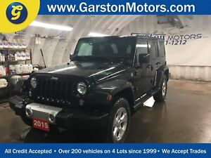 2015 Jeep Wrangler UNLIMITIED SAHARA*NAVIGATION*4WD*U CONNECT PH