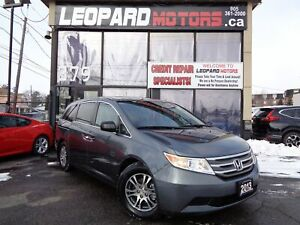 2013 Honda Odyssey EX-L,8 Passengers,Camera,Dvd,Leather*Certifie