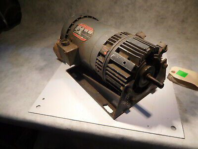 Warner Electric 50-20 Clutchbrake Motor 12hp 1140rpm