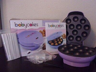 Babycakes Purple Cake Pop Maker