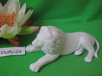 Weißer liegender Löwe 17 cm von Rosenthal