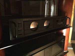 Carver CT-27V Preamp and Carver TFM-15 Power Amplifier