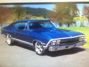 WANTED 1968 CHEVELLE PARTS
