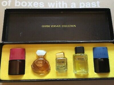 Gianni Versace Rare 80s Vintage Miniature Parfum V'E Versace L'Homme  Collection