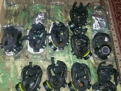 Msa Advantage 1000 Riot Control Respirator Gas Mask And Filter Swat Emergency