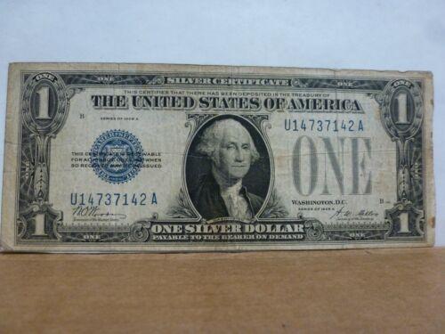 "1928 $1 Silver Certificate ""Funny Back"" FR-1601"