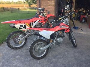 Crf 450r and crf 150f