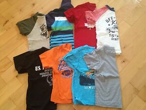 Lot of boys clothes, size 4 and 5