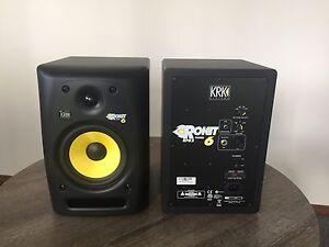 KRK ROKIT 6 Studio Monitors Tuggerah Wyong Area Preview