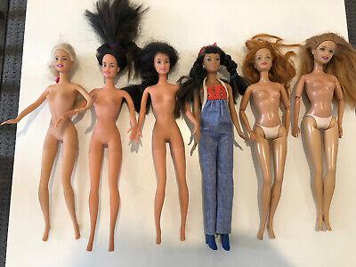 Barbie Lot #4 - Six (6) Barbie Dolls  - From 2002